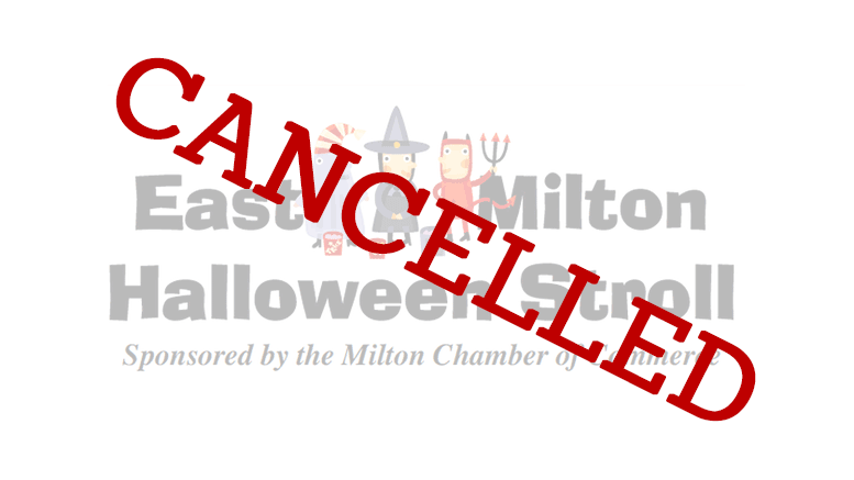 Halloween Noreaster 2020 East Milton Halloween Stroll CANCELLED due to anticipated Nor