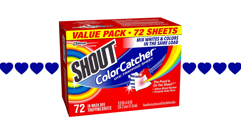 Random Review Wednesday: Simplify your laundry with Shout Color Catcher sheets