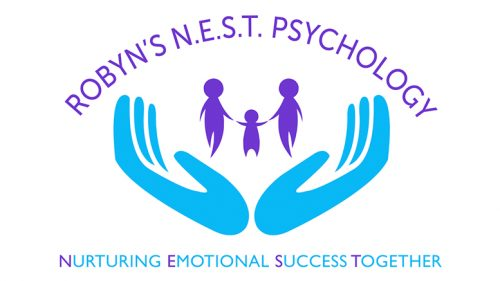 Robyn's N.E.S.T. Psychology Logo