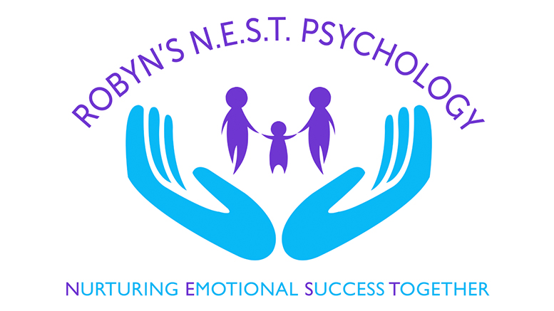 Robyn's N.E.S.T. Psychology Logo