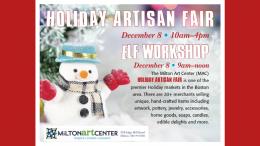 Milton Art Center Holiday Artisan Fair