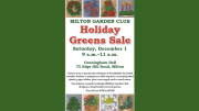 Milton Garden Club's Holiday Greens Sale