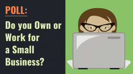 POLL: Do you own or work for a small business?