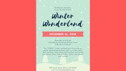 Winter Wonderland at Fontbonne Academy