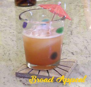 Broad Appeal Rum Punch