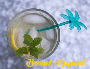 Broad Appeal Cocktail - wine spritzer