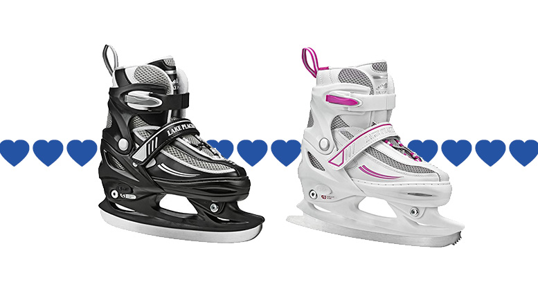 Random Review Wednesday: Kids adjustable ice skates for the two-year win