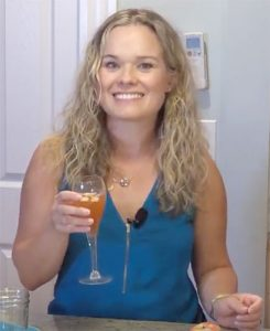Harvest Mimosa, made by Melissa Fassel Dunn, on Broad Appeal