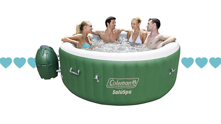 Random Review Wednesday: The Coleman inflatable hot tub!