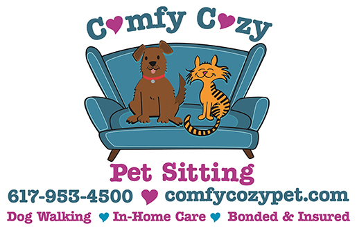Comfy Cozy Pet Sitting logo