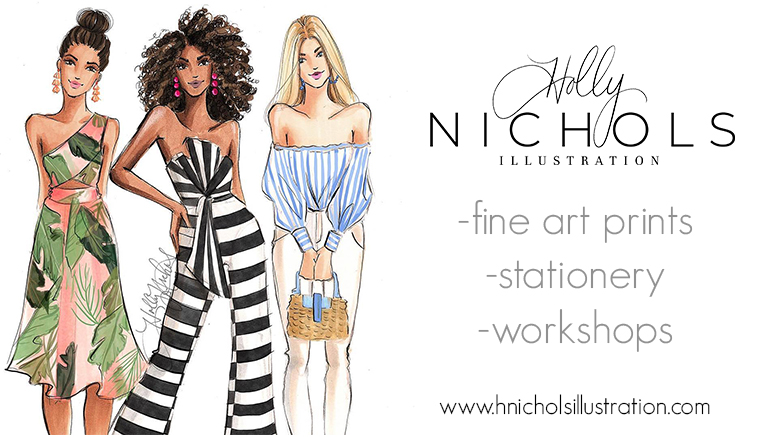 Holly Nichols Illustration logo