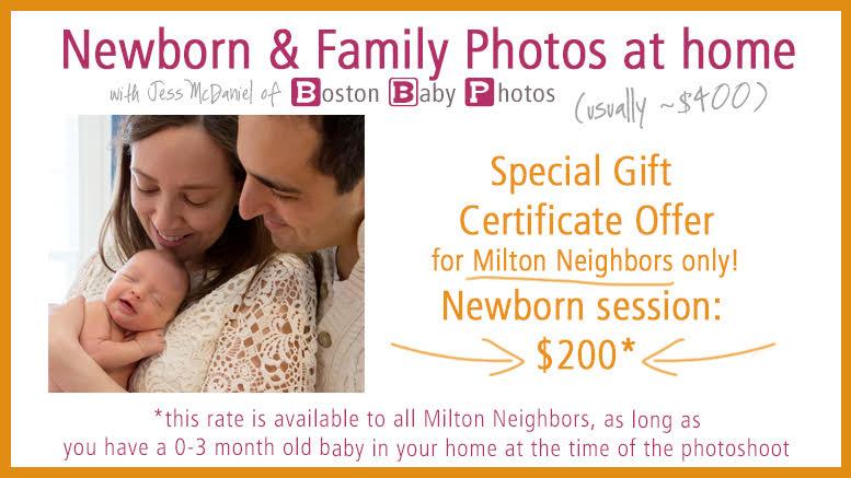 Photographers in Milton: Boston Baby Photos - Jessica McDaniel