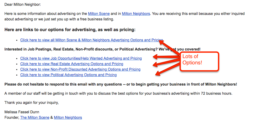 zapier welcome to our advertising letter