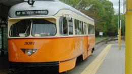 Mattapan high speed trolley