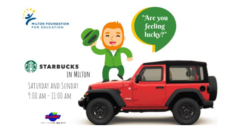MFE St. Patrick's Day Jeep Raffle sale to take place March 16 & 17