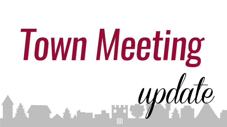 Milton Town Meeting Update