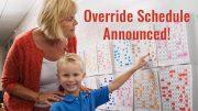 override schedule announced april fools