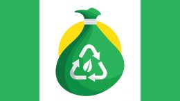 recycle bag green earth