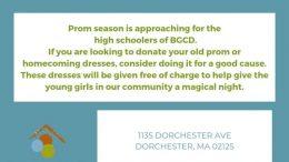 Boys & Girls Club of Dorchester donations