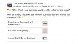 April business poll