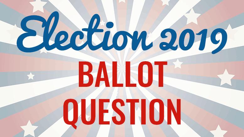 Election 2019 ballot question