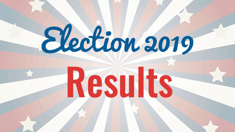 Election results 2019