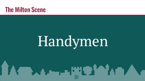 Recommended Handymen in Milton & Beyond