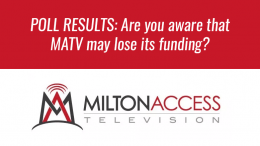 Milton Access TV Poll