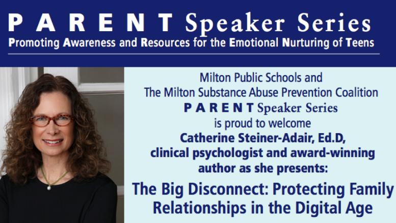 PARENT Speaker Series