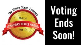 Milton Neighbors Choice Awards 2019