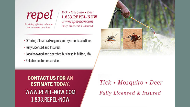 Repel: Tick, Mosquito & Deer pest control in Milton MA