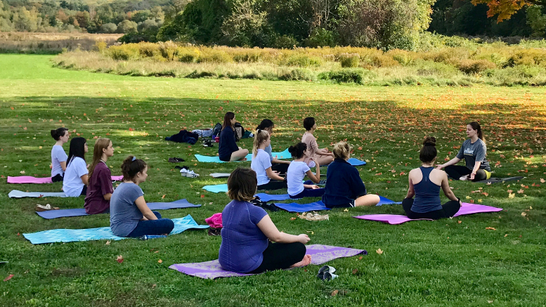 Yoga at Eustis Estate