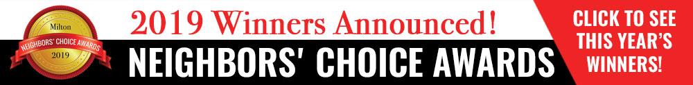 Milton Neighbors Choice Awards 2019