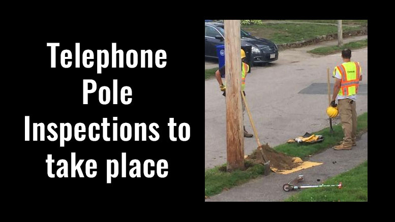 Verizon to conduct telephone pole inspections throughout Town of Milton