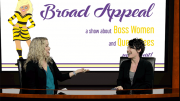 Tara O'Riordan, colorful manager of local favorites Ashmont Grille and Tavolo shares her story on Broad Appeal with Melissa Fassel Dunn