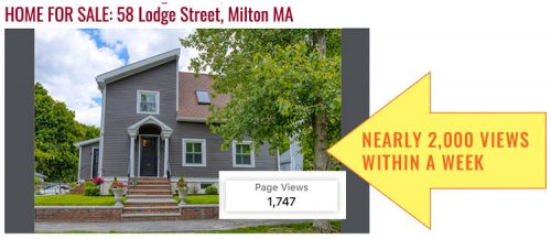 Lodge Street Real Estate Listing Stats