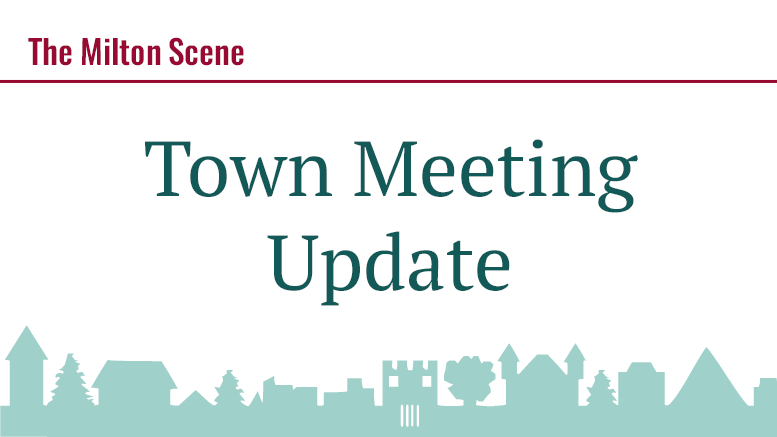 town meeting update