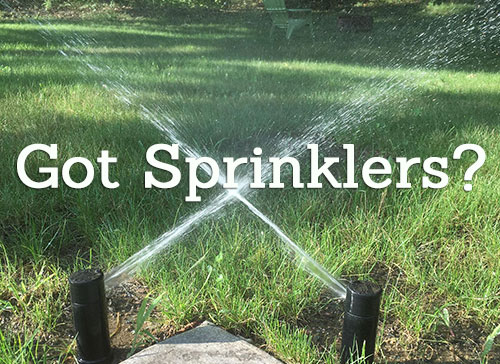 Richard hunt landscaping sprinkler ad irrigation system