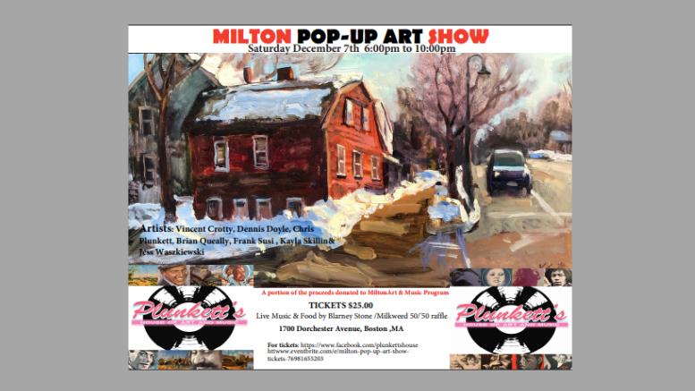Milton Pop-up Art Show 2019