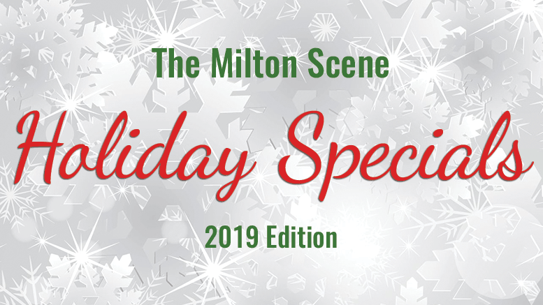 Milton Scene Holiday Special ad