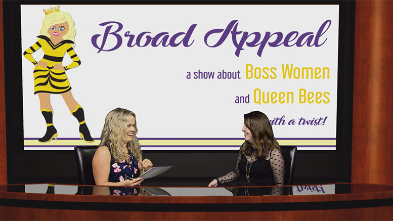 Liz Theresa chats about branding, websites, and entrepreneurship on Broad Appeal