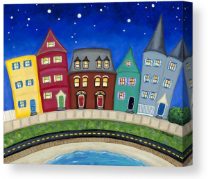 melissa fassel dunn whimsical paintings