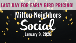 Milton Neighbors Social January 2020