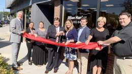 The Hanley Group grand opening with Mayor Koch