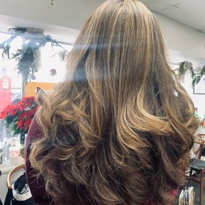 Gervasi & Co hair pic - honey long brown waves