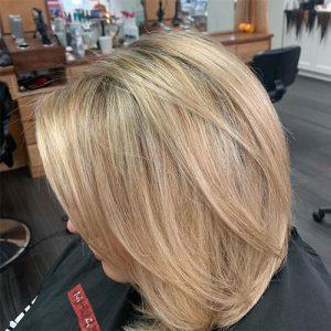 Gervasi & Co hair pic - warm blonde highlights