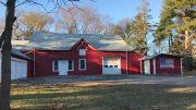 Cunningham Park barn