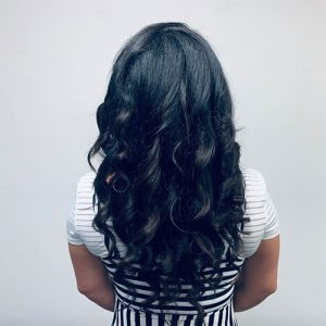 Gervasi & Co hair pic - long dark brown hair waves