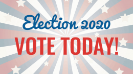Election 2020 - vote today!