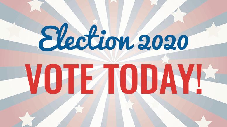 Election 2020 - vote today!